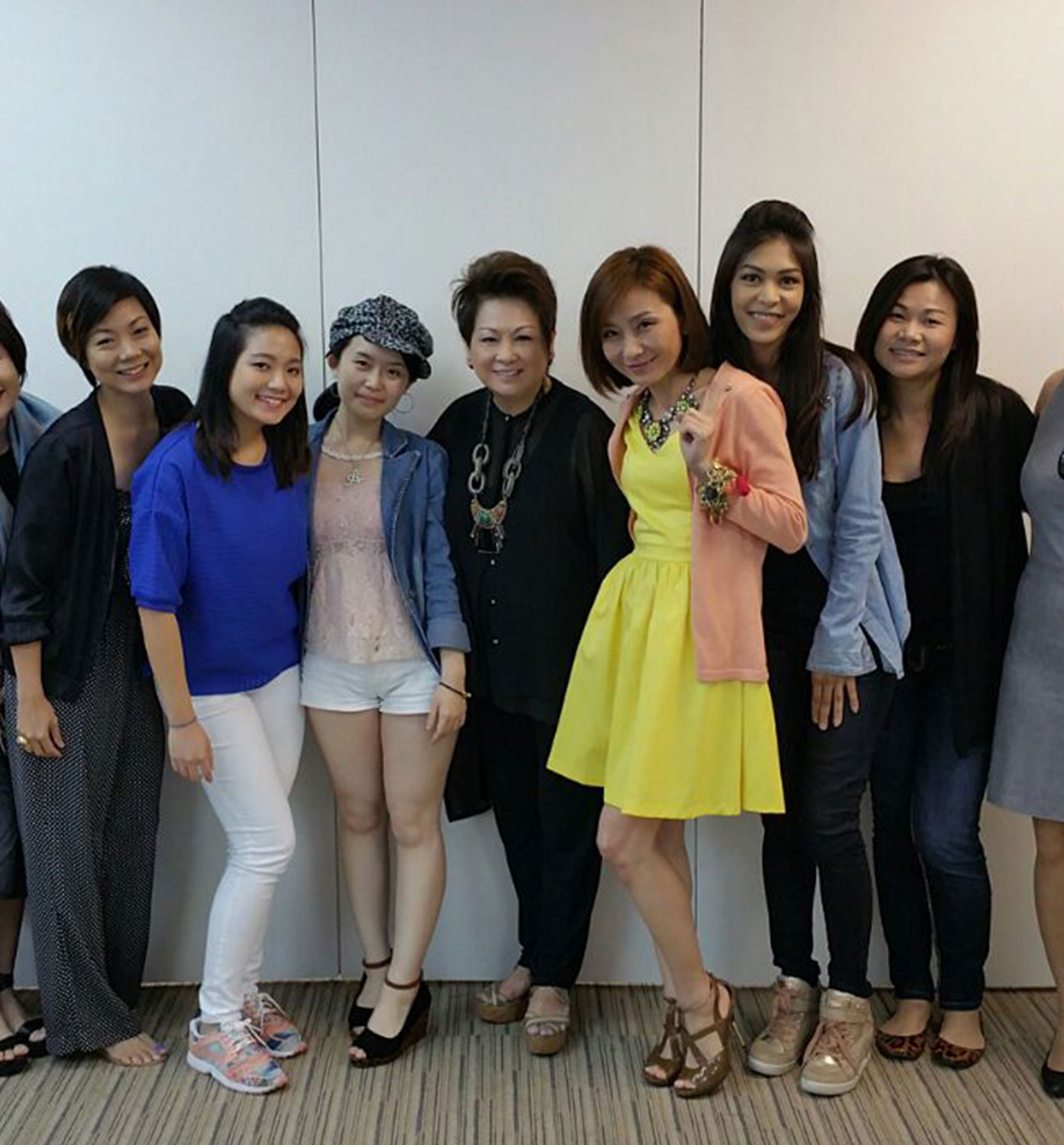 Style Coaching Institute trainees with Trainer - Singapore