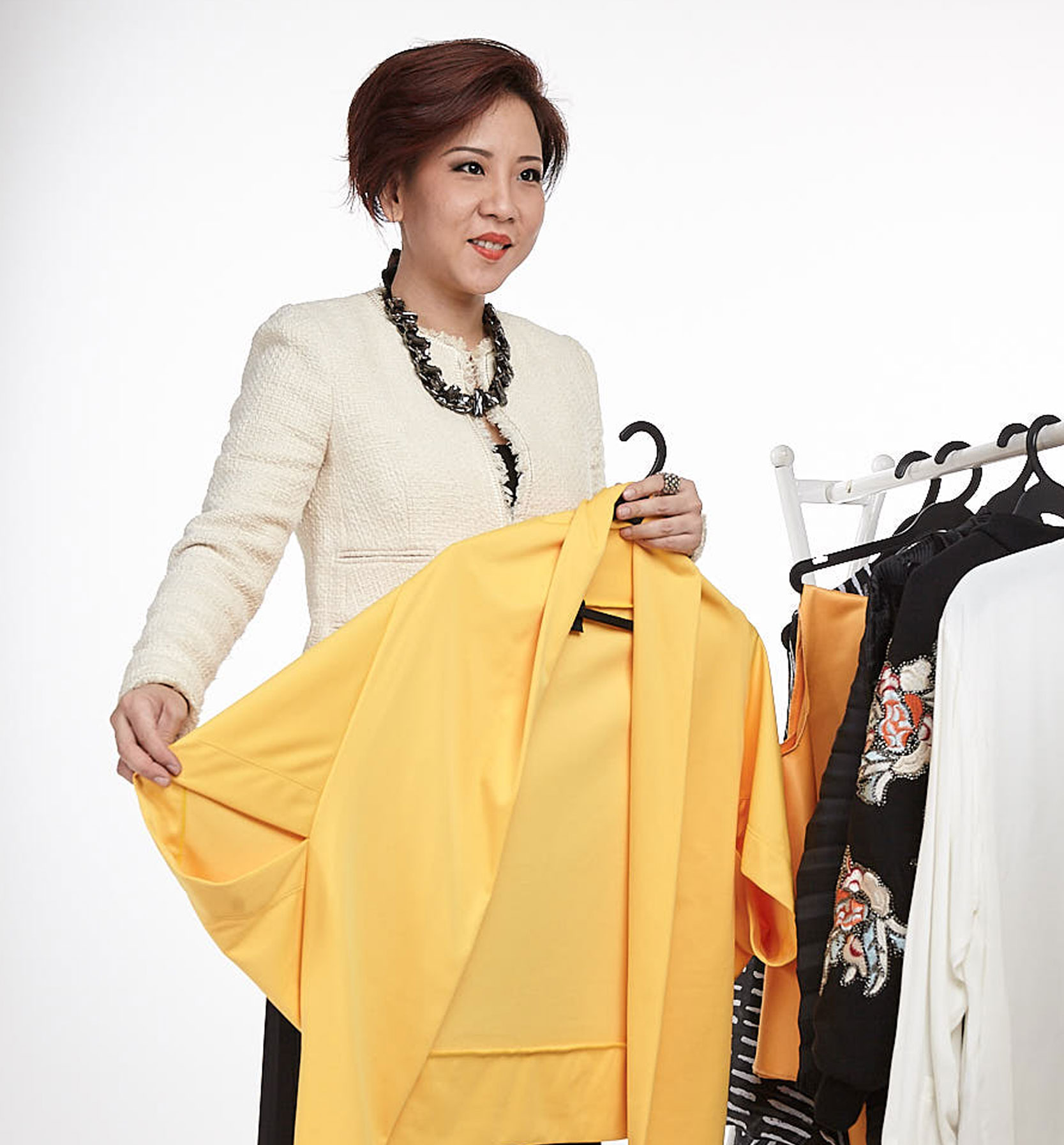 Style Coaching - Singapore team member Choosing Clothes