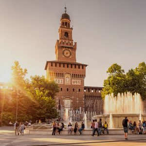 A small image of Castello Sforzesco, Piazza Castello, Milan, Italy