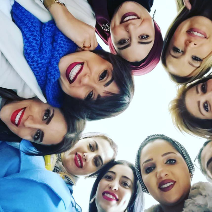 Style Coaching Institute Beirut Students group selfie